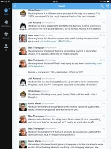 Conversation Stream in Twitter