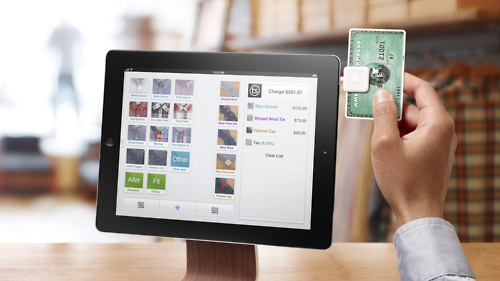 Square iPad POS Terminal