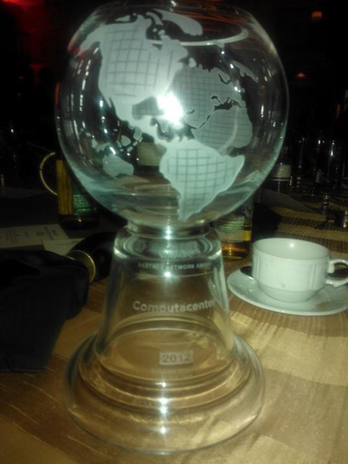 VMware Global Solution Provider of the Year 2012 Trophy