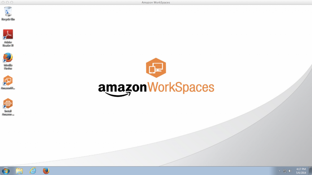 AWS Workspaces Microsoft Windows